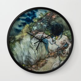 Leda and the Swan? Wall Clock