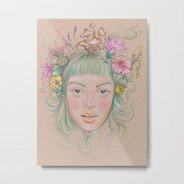 Isabelle Metal Print
