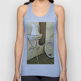 Once Upon a Time - Wash Jug and Stand Unisex Tank Top
