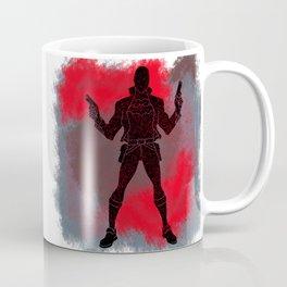 Red Hood Splatter Background Coffee Mug
