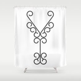"Letter ""Y"" in beautiful design Fashion Modern Style Shower Curtain"
