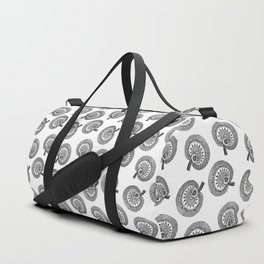 Wild Mushrooms all over Duffle Bag