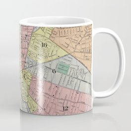 Vintage Map of Rochester NY (1901) Coffee Mug
