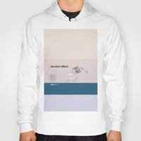alcohol Hoodies featuring alcohol effect by Ilaria Bicchi