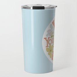 Water Yourself First Travel Mug
