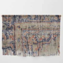 Vintage Woven Blue Wall Hanging