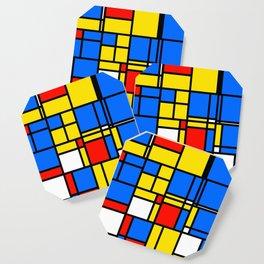 Mondrian Style Coaster