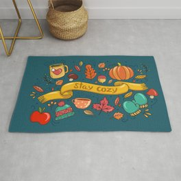 Autumn Is The Time To Stay Cozy Rug