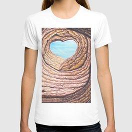 Le coeur de l'amour éternel T-shirt