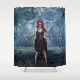Left By You Shower Curtain