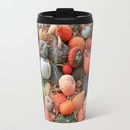 cornucopia (heirloom pumpkins and squashes) Travel Mug
