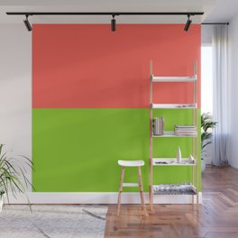 Pink Grapefruit & Lime Wall Mural