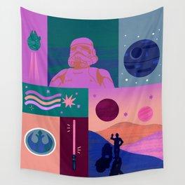 """Galaxy Dreams"" by Jenny Chang-Rodriguez Wall Tapestry"