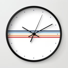 Vintage T-shirt No5 Wall Clock