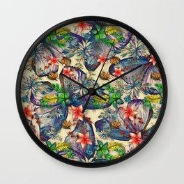 My Tropical Garden 10 Wall Clock