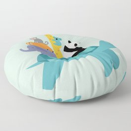 Travel Together Floor Pillow