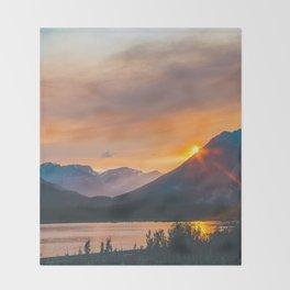 Jasper, Alberta Throw Blanket