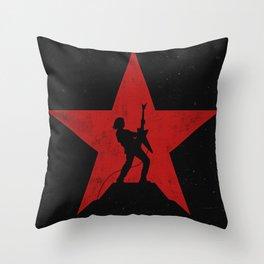 Rockstar Throw Pillow