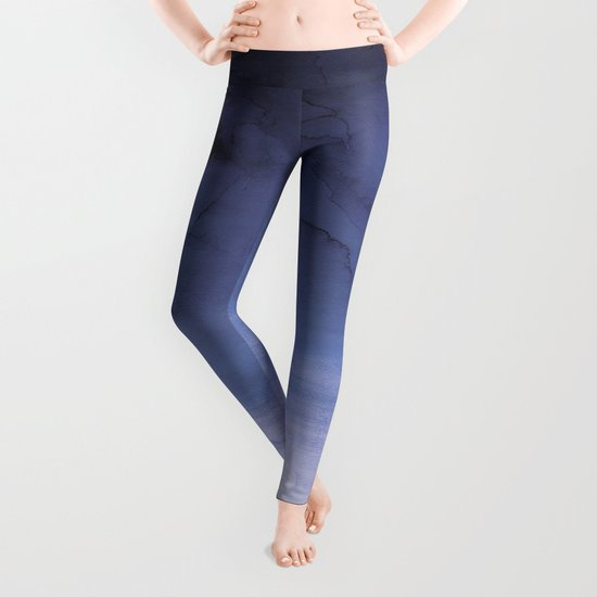 Deep Blue Leggings