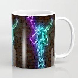 MJ neon art Coffee Mug