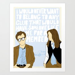 Someone Like Me Art Print