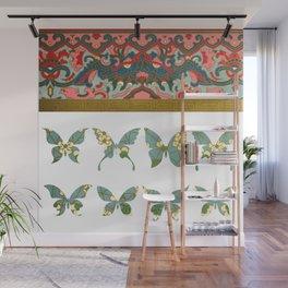 Ornamental Butterfly Wall Mural