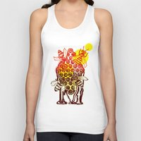 honeycomb Tank Tops featuring The Honeycomb by minniemorrisart