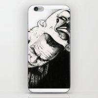 the joker iPhone & iPod Skins featuring Joker by Sinpiggyhead