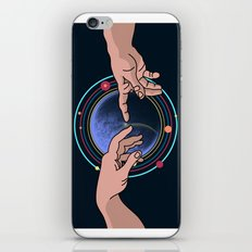 Michelangelo space blue iPhone & iPod Skin