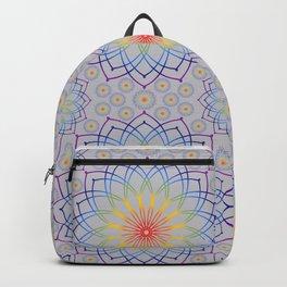 Mandala of rainbow Backpack
