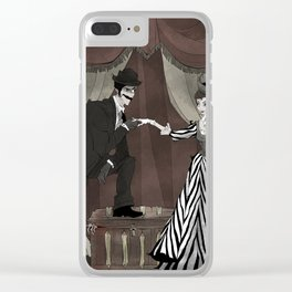 H. H. Holmes Clear iPhone Case