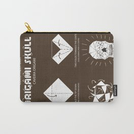 Origami Instruction Carry-All Pouch
