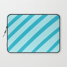 Minty Stripes Laptop Sleeve