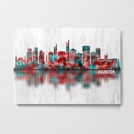 Asuncion Paraguay Skyline Metal Print