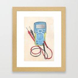 Multimeter Framed Art Print