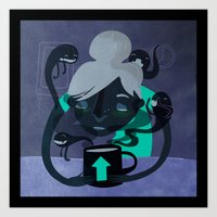 Coffee Demons Art Print