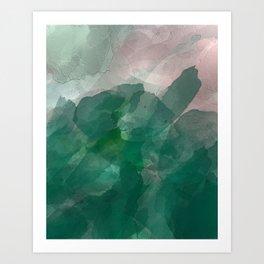 blotter fade Art Print