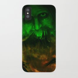 In The Dark Of The Night iPhone Case