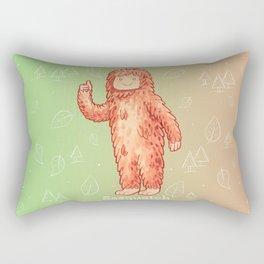 Sasquatch - Cute Cryptid Rectangular Pillow
