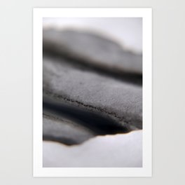 Black and white abstract Art Print