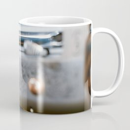 Hunting shotgun Close up. Duck Hunting. Coffee Mug