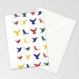 Silhouettes - Pattern Stationery Cards