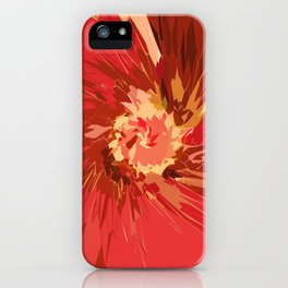 Fall Flower iPhone Case