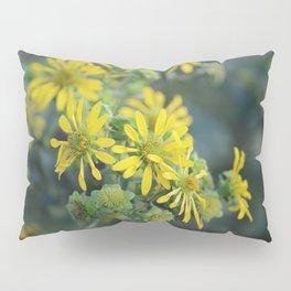 Thin Leaf Sunflowers Pillow Sham