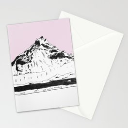 a mountain Stationery Cards
