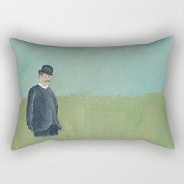 Overdressed. Rectangular Pillow