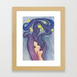 Galaxy Dreamer Framed Art Print