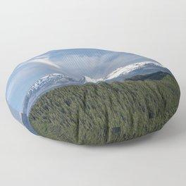 Mt Hood Oregon Floor Pillow