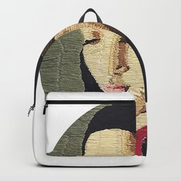 """""""Stitches"""" Embroidery Backpack"""