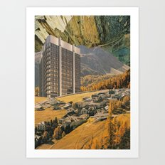 Overshadowed Art Print